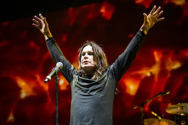 Ozzy Osbourne of Black Sabbath performs at Ozzfest 2016 at San Manuel Amphitheater on Sept. 24, 2016 in San Bernardino, Calif. (Courtesy Amy Harris/Invision/AP)