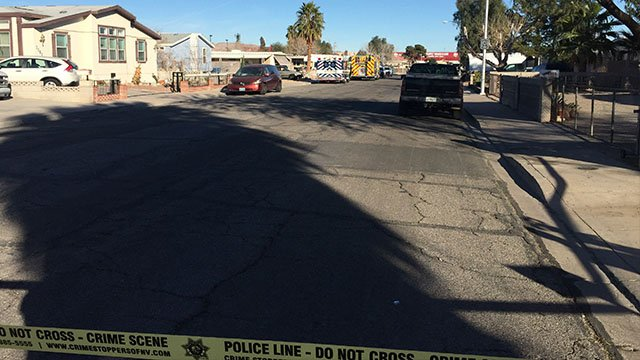 A man died in a construction accident in northeast Las Vegas. (Photo: Eric Hilt / FOX5 Vegas)
