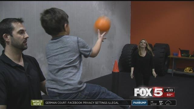 When a Las Vegas Valley couple learned their daughter has autism, they started a years-long journey seeking out different therapy programs for her.