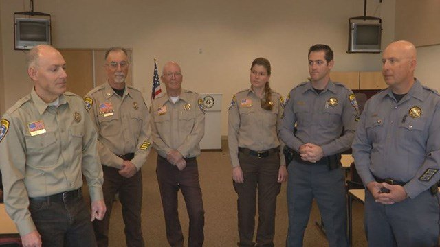 Mohave County Search and Rescue helped save four people from the deadly helicopter crash near the Grand Canyon Saturday. (FOX5)