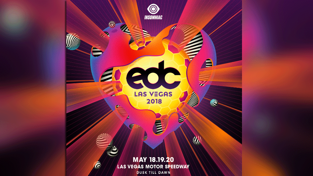 "The theme for EDC 2018 in Las Vegas is ""Kinetic Love."" (Source: EDC)"