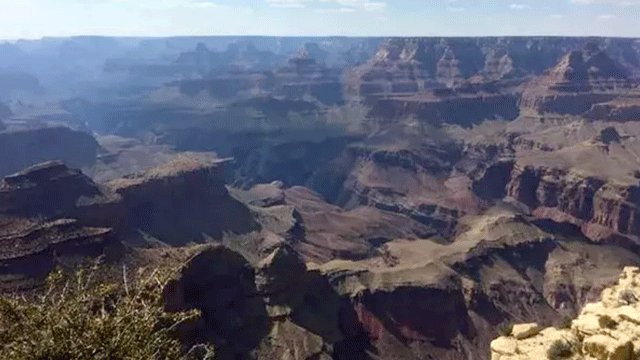 The Grand Canyon is shown in an undated image. (File)