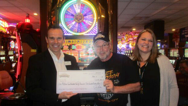 A Wisconsin hit a $1.23 million jackpot at the Fremont Hotel and Casino. (Boyd Gaming)