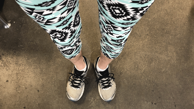 An issue that divides America: yoga trousers