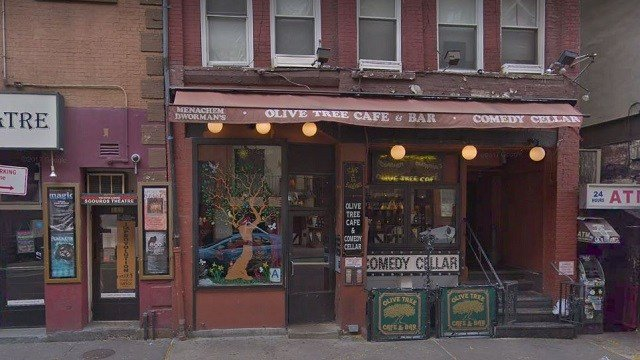 Comedy Cellar in New York City. (Google Street View)