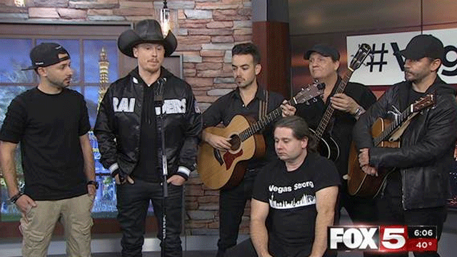 "Musicians penned a song called ""Vegas Strong."" (FOX5)"