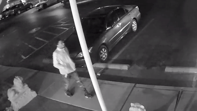 Police released surveillance video of a shooting suspect. (Source: LVMPD)