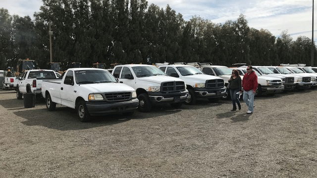 Clark County will host a government surplus auction on Feb. 24, 2018. (Brad Boyer/FOX5)