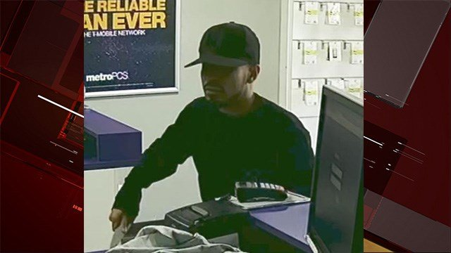 Police asked for the public's help to find a man who robbed a store on the 3400 block of East Charleston Boulevard earlier this month.