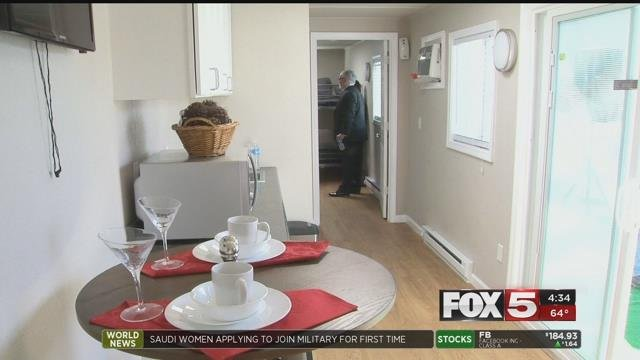 """Veterans in the valley looking for housing could soon have a new option with """"Tiny Houses."""" (FOX5)"""
