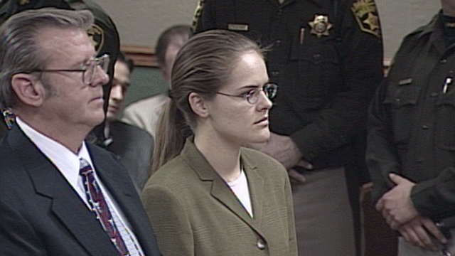 Jessica Williams is shown during a court hearing in the early 2000s.(File)