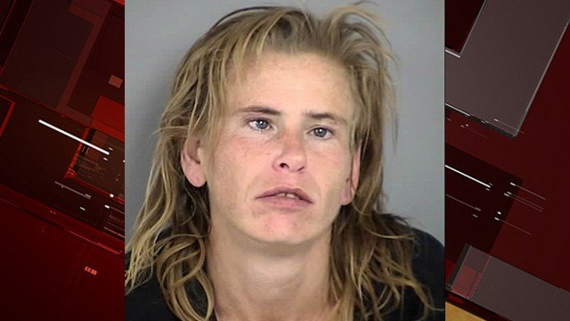 Woman with pickax arrested at North Las Vegas elementary school