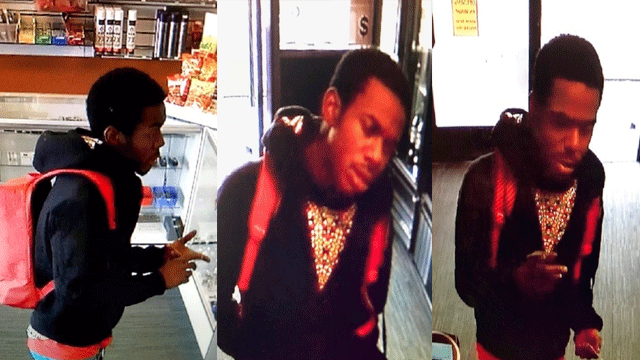 Police said they are looking for a commercial robbery suspect. (Source: LVMPD)