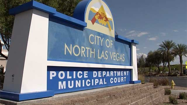 The City of North Las Vegas sign (FOX5).