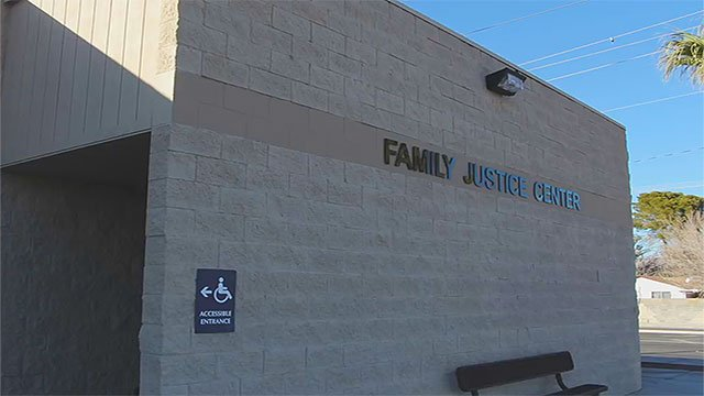 The exterior of the Southern Nevada Family Justice Center (LVMPD / FOX5).