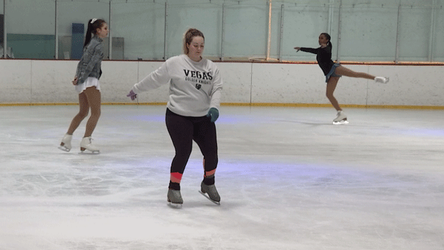 The Las Vegas Ice Center is offering extended hours in March. (Dylan Kendrick/FOX5)