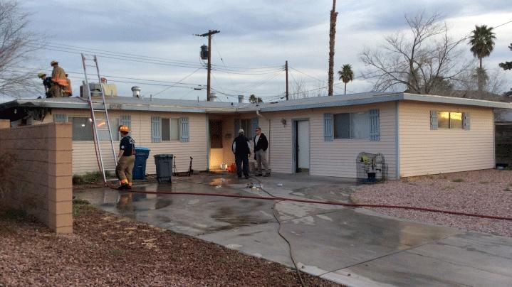 Investigators estimated damage at $20,000. (Source: LVFR)
