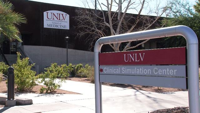 The University of Nevada, Las Vegas School of Medicine is shown in an undated image. (FOX5)