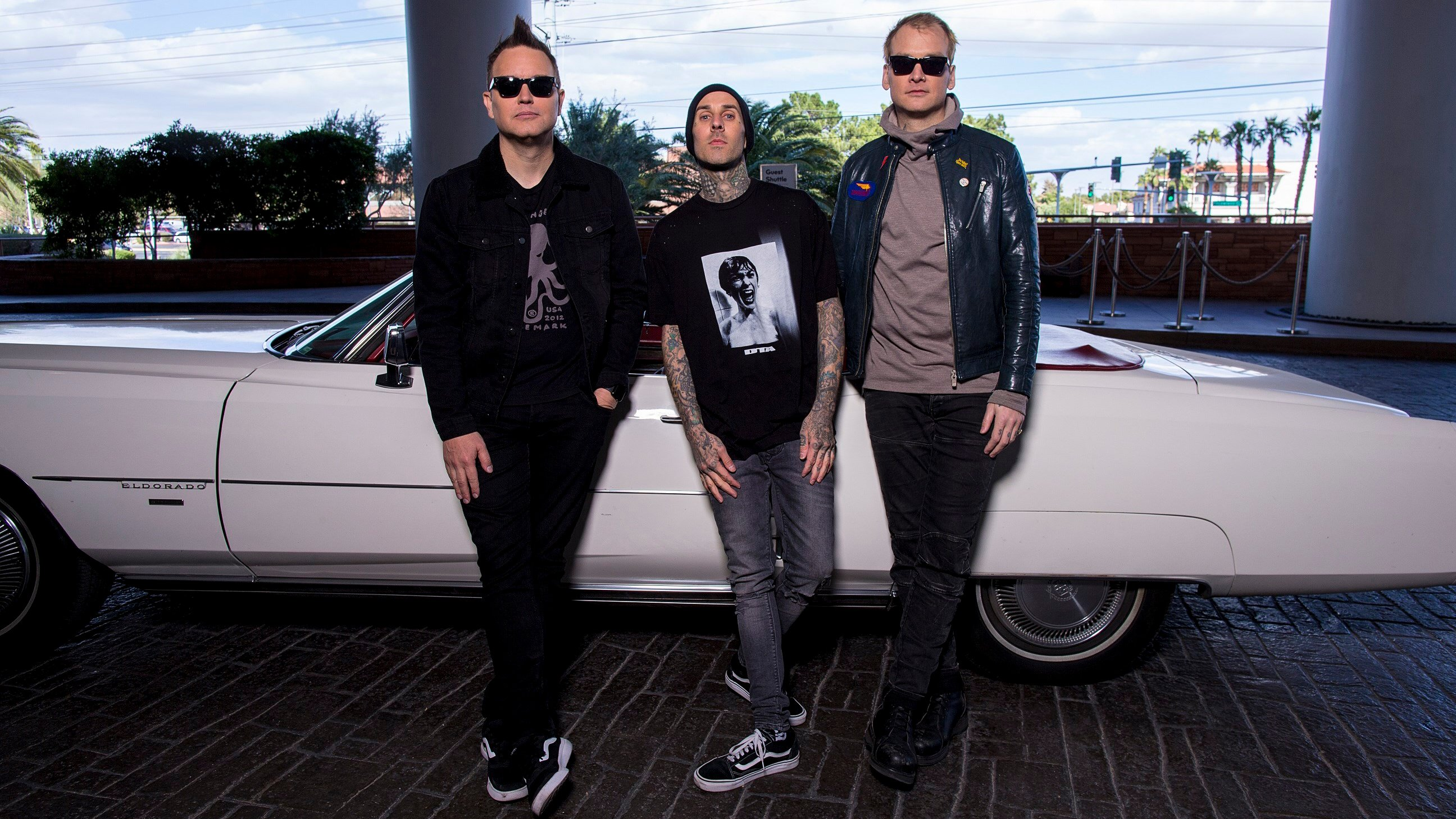 Blink-182 at The Palms Caisno Resort (Photo credit Willie T.)