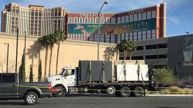 A bicyclist was killed in a crash Monday afternoon, according to Las Vegas Metro police.(Gai Phanalasy/FOX5)