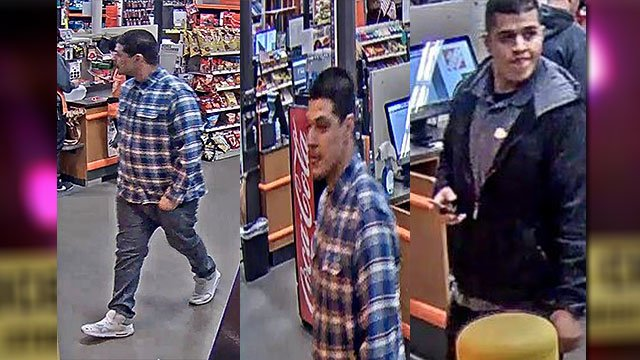 Metro police released video stills of suspects wanted for stealing merchandise from an east Valley retail store Feb. 22, 2018 (LVMPD / FOX5).