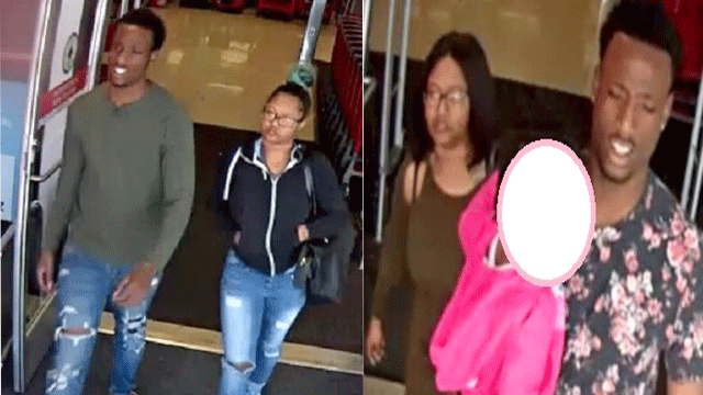 The robbery suspects are shown in an undated image. (Source: LVMPD)