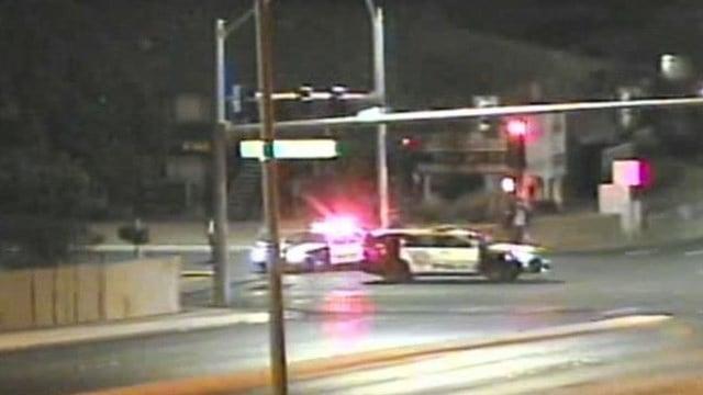A pedestrian was hit and killed in a crash near Washington Avenueand Rainbow Boulevard in northwest Las Vegas Monday night, according to Metro Police.