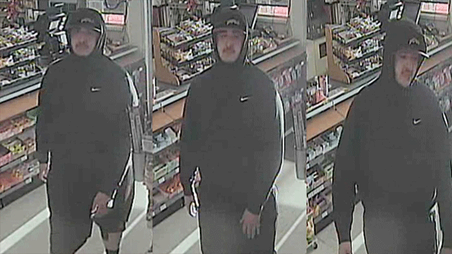 Police released images of a convenience store robber. (Source: LVMPD)