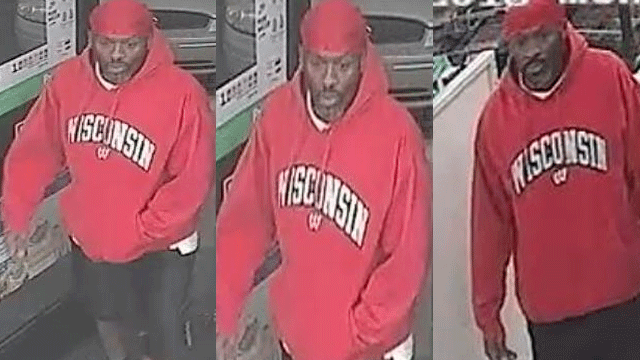 Police released images of a suspected robber. (Source: LVMPD)
