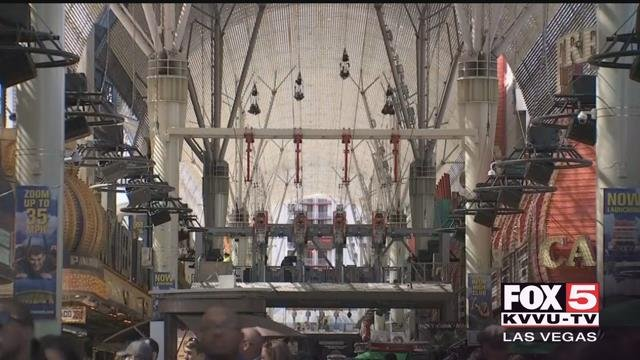 The Fremont Street Experience is in for a major upgrade in the next year. (FOX5)