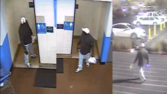 Police released surveillance images of a man suspected of groping. (Source: LVMPD)
