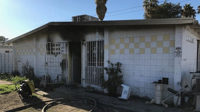 Las Vegas Home Sustains 75k Damage In Fire Fox5 Vegas