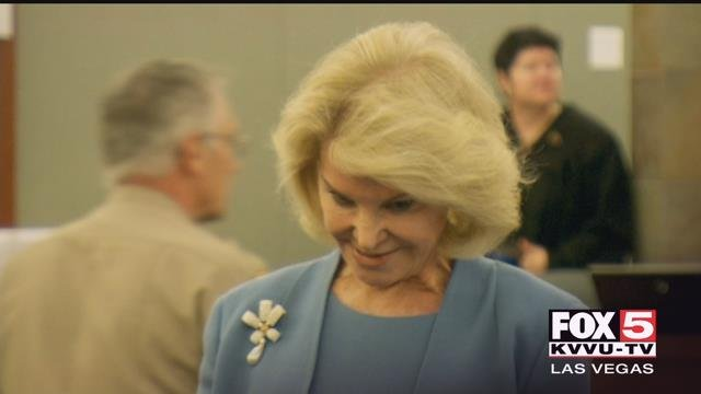 Elaine Wynn took the stand on Wednesday morning to testify against her ex-husband, Steve Wynn.