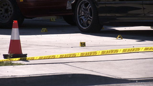 A man was killed in a shooting in North Las Vegas on March 29, 2018. (Luis Marquez/FOX5)