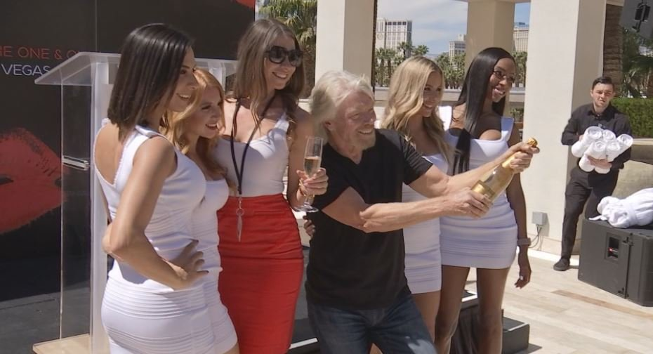 Billionaire Richard Branson has purchased the Hard Rock Hotel and Casino in Las Vegas. (Brad Boyer / FOX5)