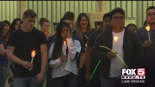 Friends and family gathered to to remember Zach Ragusa after he was killed by a co-worker March 30, 2018 (FOX5).