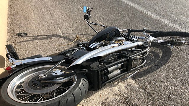 A 66-year-old man died after an article of clothing lodged in the wheel of his motorcycle (NHP).