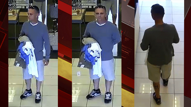 Police released surveillance images of the suspect. (Source: LVMPD)