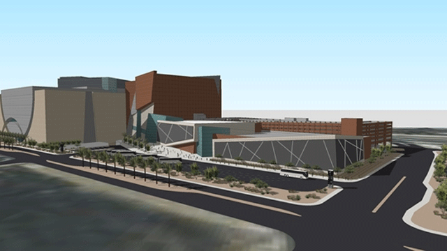 A rendering of the World Market Center expansion. (Source: World Market Center)