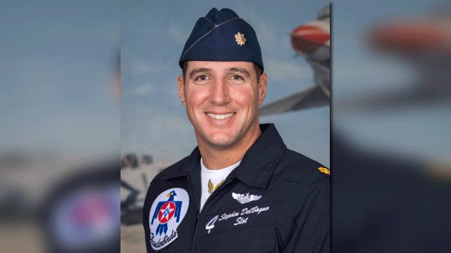 Maj. Stephen Del Bagno (Source: U.S. Air Force)