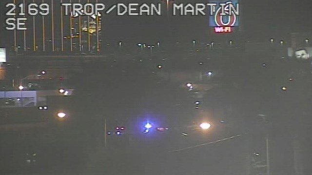 Metro Police said a man was shot several times at the Motel 6 on the 5000 block of Dean Martin Drive, near the Las Vegas Strip. (Photo: FastCam)
