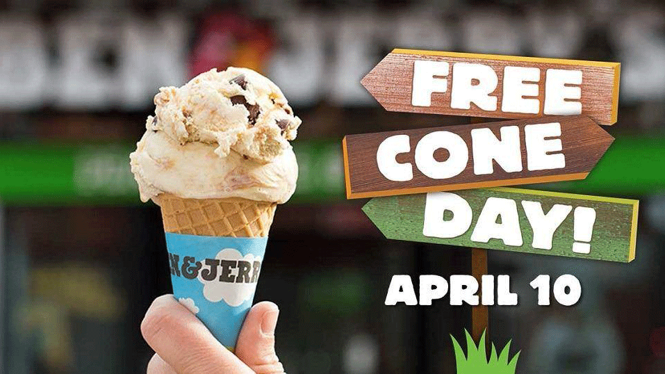 Ben & Jerry's locations in Henderson are giving away free ice cream on April 10, 2018. (Source: Ben & Jerry's)