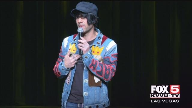 Criss Angel spoke in front of hundreds of Clark County students participating in a youth summit for opioid awareness Tuesday. (Photo: Kathleen Jacob / FOX5)