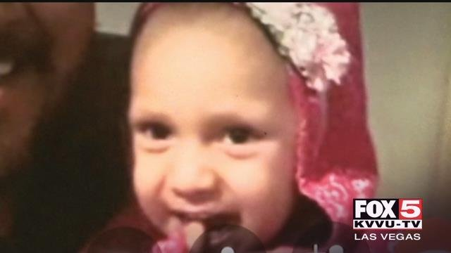 A Las Vegas three-year-old battling cancer was shot while leaving a grocery store with her family in Utah.