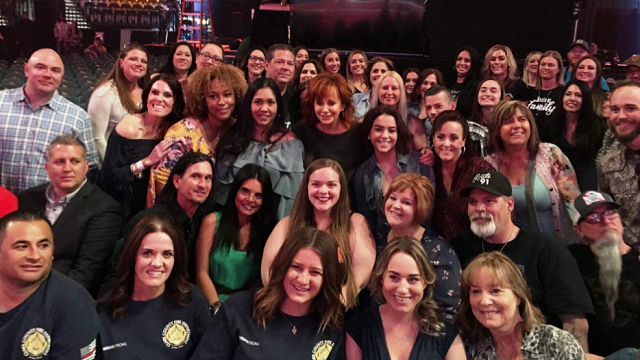 Reba with fans (Courtesy)
