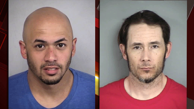 Damian Torchy (left) and Daniel Parker (right). (Source: NLVPD)