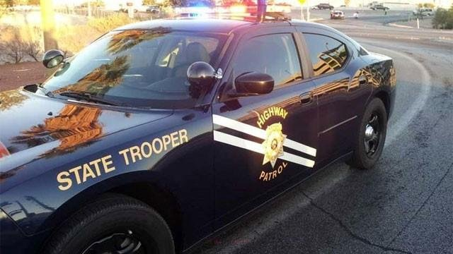 A Nevada Highway Patrol vehicle is shown in this undated photo. (FOX5 FILE)