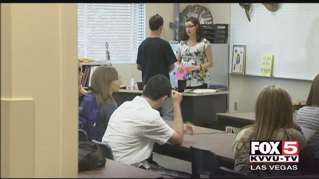A little-known state law passed in 2015 may force hundreds of Clark County teachers out of a job. (FOX5)