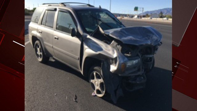 A woman died in a crash on the U.S. 95 in northwest Las Vegas, according to Nevada Highway Patrol. (Photo: NHP)