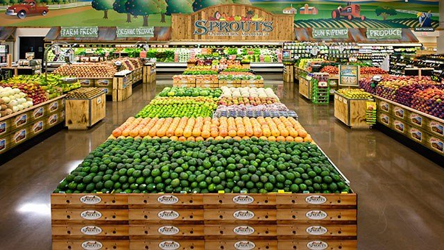 Sprouts Market offers a variety of fresh and organic produce (Sprouts Market).